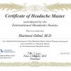 Headache Master, International Headache Society