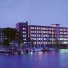 Schmerzklinik Kiel in der Abenddämmerung