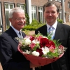 Dr. Dieter Paffrath, Chairman and CEO of AOK Schleswig-Holstein , the major health insurance company, congratulates on the occasion of the 10th anniversary