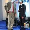 Moderator Dennis Wilms und TK-Landeschef Dr. Brunkhorst