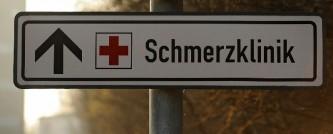 Der Weg zur Schmerzklinik