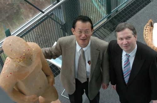 Prof. Fumihiko und Prof. Dr. Göbel