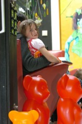 Kind im Wartezimmer
