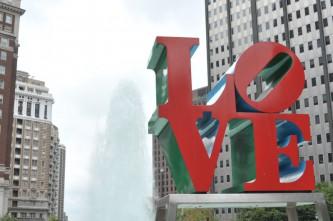 Kunst in Philadelphia: Liebe
