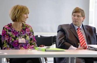Dr. Susanne Holst und Dr. Müller-Schwefe