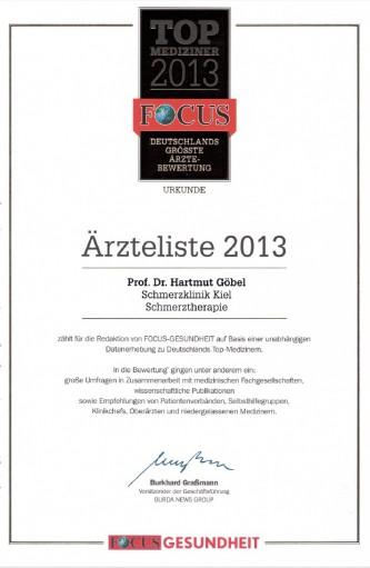 Focus Aerztelise 2013