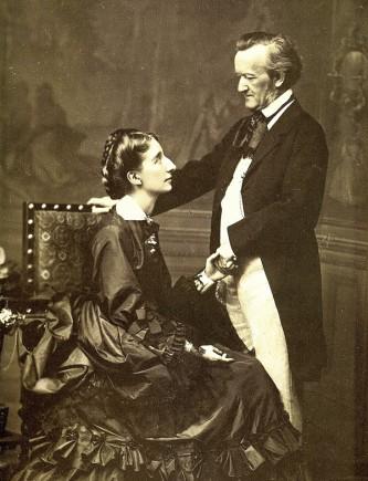 Hochzeitsbild von Cosima und Richard Wagner