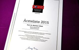 Focus Ärzteliste 2015 Prof Hartmut Göbel Schmerzklinik Kiel (5)
