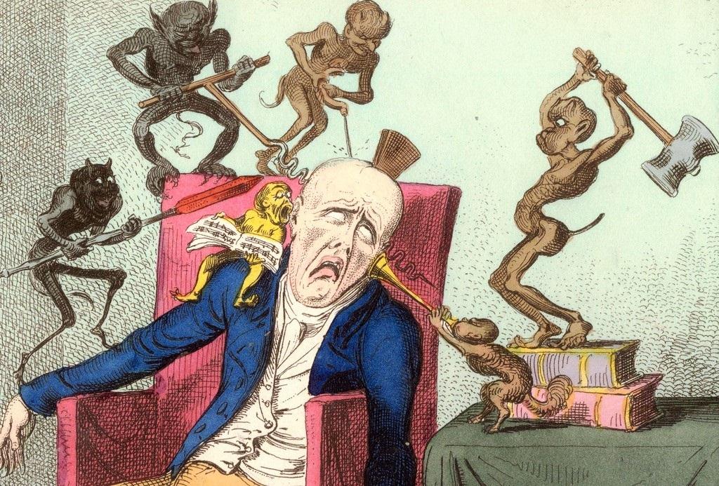 Die Symptome des Migräneanfalles